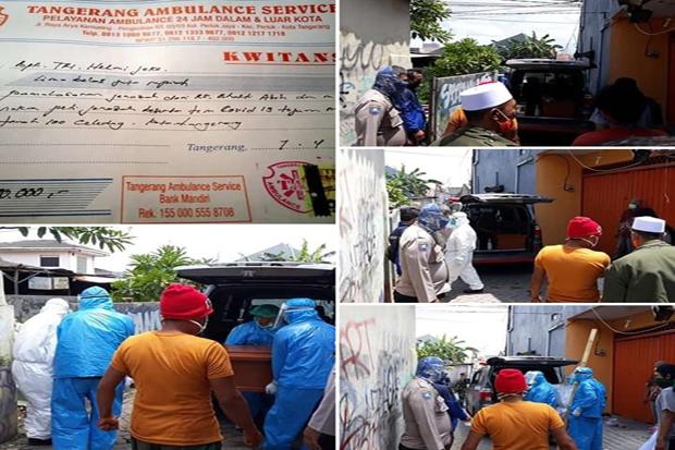 Heboh, Tarif Ambulans Rp15 Juta untuk Antar Jenazah Covid-19