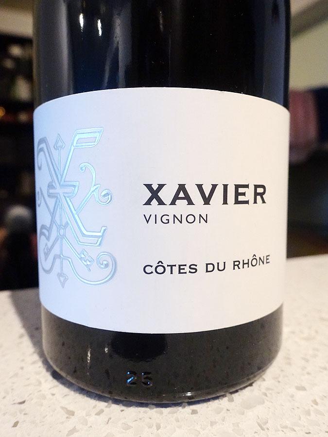 Xavier Vignon Côtes du Rhône 2017 (89 pts)