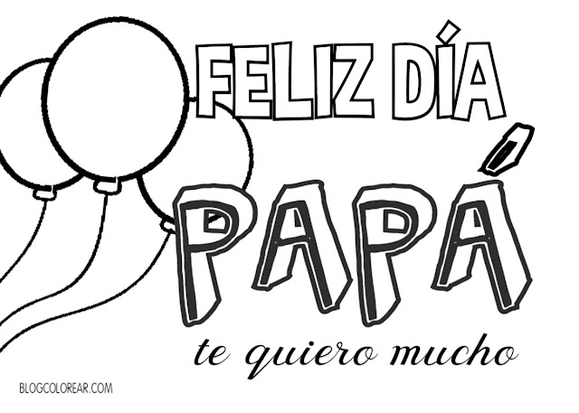 feliz dia papa te quiero mucho