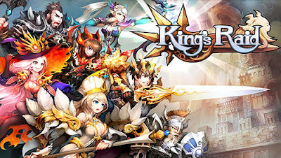 King's Raid Mod Apk Android Terbaru v2.93.0 - Game RPG Mobile Terbaik 2018