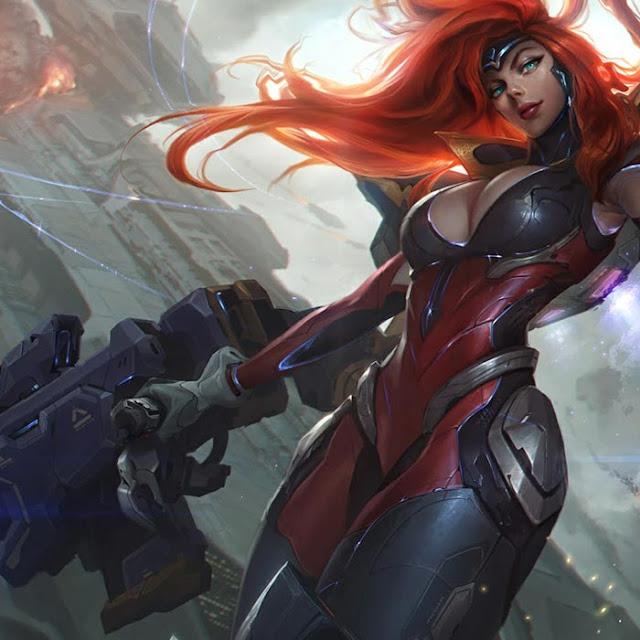Miss Fortuna League of Legends Wallpaper Engine