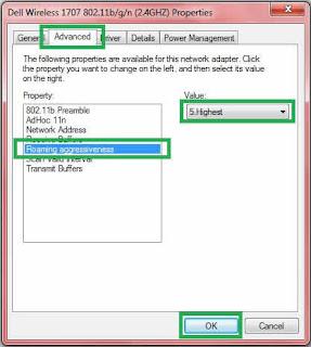 Cara Mempercepat Koneksi Internet Paling Ampuh pada Windows 7(13)