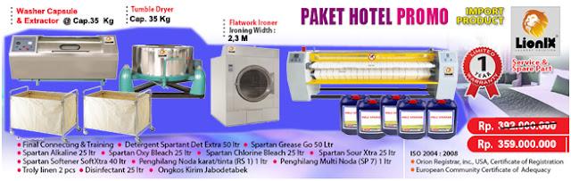 Peluang Usaha Laundry Hotel