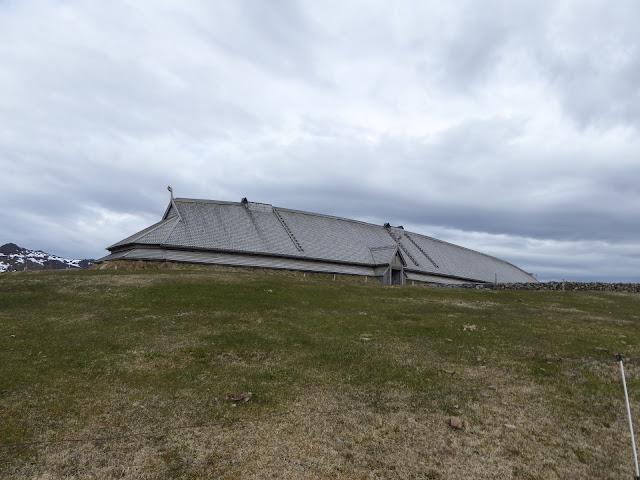 La maison des Vikings à Borg, dans les îles Lofoten : reconstitution de la vie des Vikings