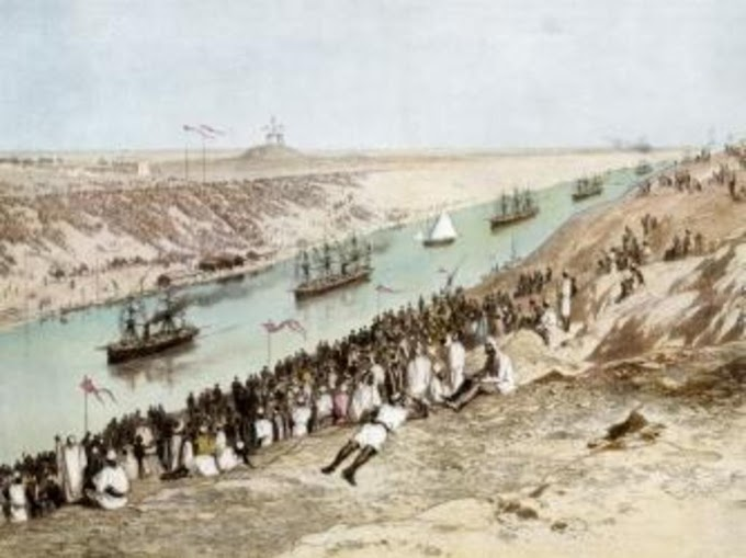 HISTORY OF SUEZ CANAL