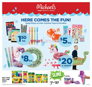 Michaels Canada Flyer valid March 5 - 11, 2021
