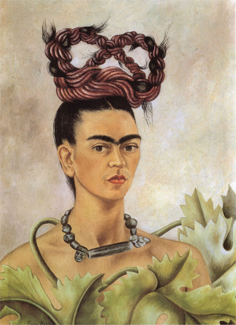 Фрида Кало - Автопортрет с косой. 1941