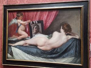 El Baño de Venus, obra de Velázquez, se exhibe también en la National gallery de Londres.