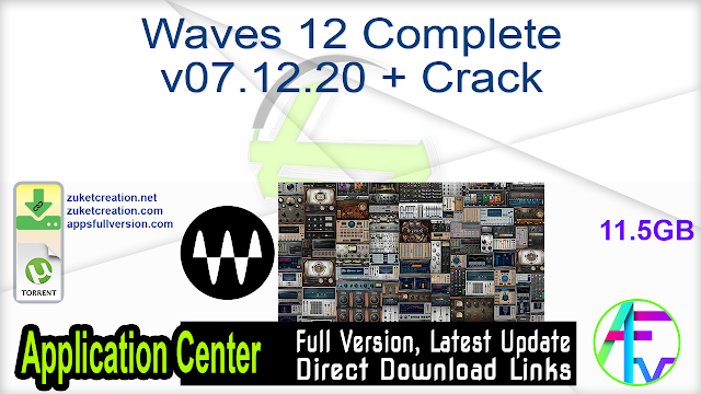 Waves 12 Complete v07.12.20 + Crack
