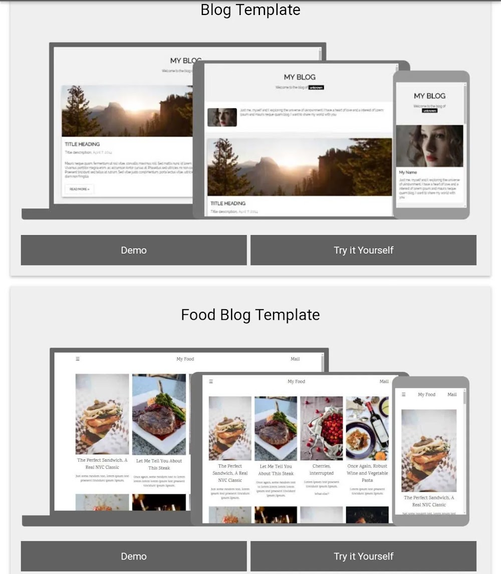MANFAAT MEMBUAT TEMPLATE BLOG BERSAMA W3SCHOOL  SIMPLE DAN STYLISH