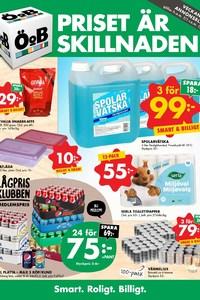 عروض جميع محلات او بي حتى 21/1 -Överskottsbolaget  ÖoB stores offers this week