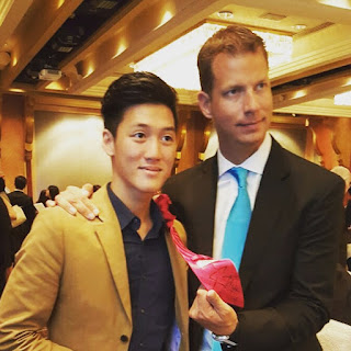 Alaric Ong with JT Foxx
