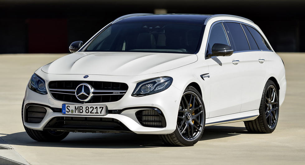New mercedes amg e63 s wagon is wildest and fastest for Mercedes benz e class wagon amg