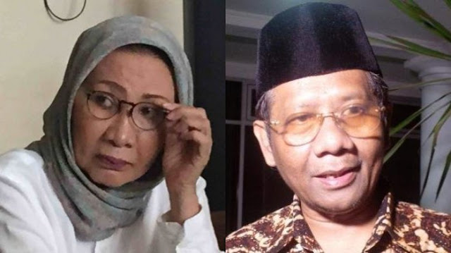 Mahfud MD Ungkap Kebobrokan di DPR, Ratna Sarumpaet: Hanya Bikin Pembenaran