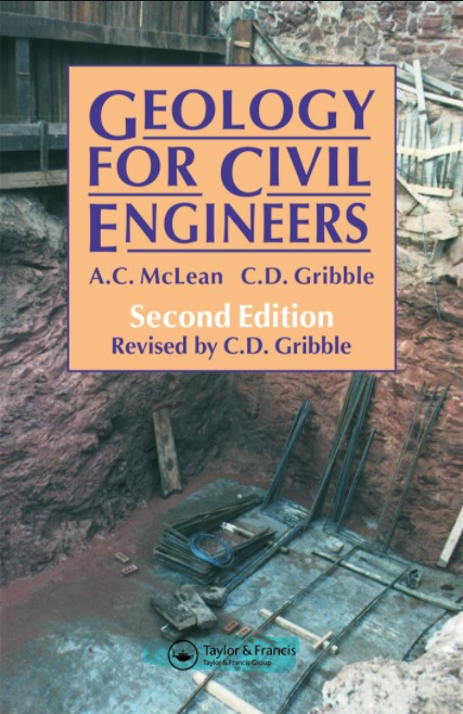 Geology for Civil Engineers , McLean and Gribble in pdf