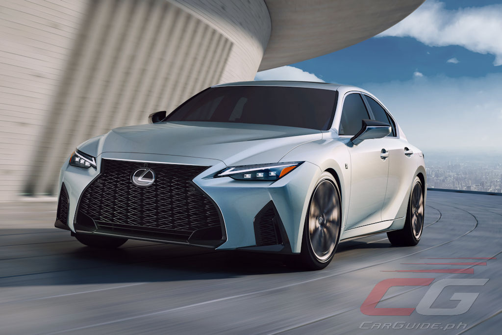 the 2021 lexus is polishes but doesn't rewrite the
