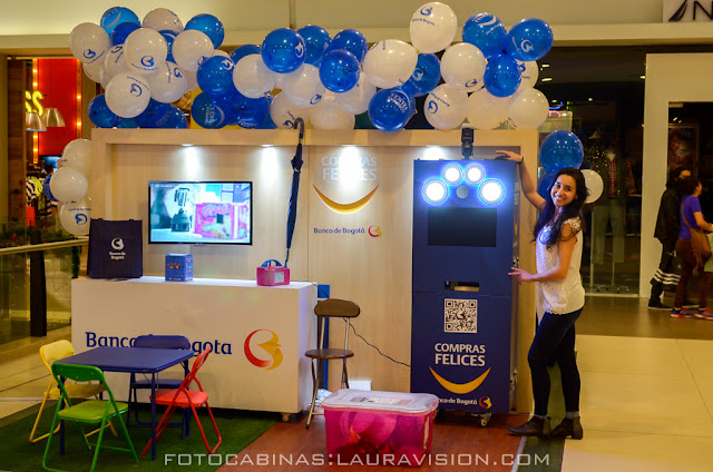 Alquiler de fotocabinas en centros comerciales Titan Plaza