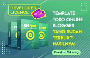 Bospedia Lisensi Developer