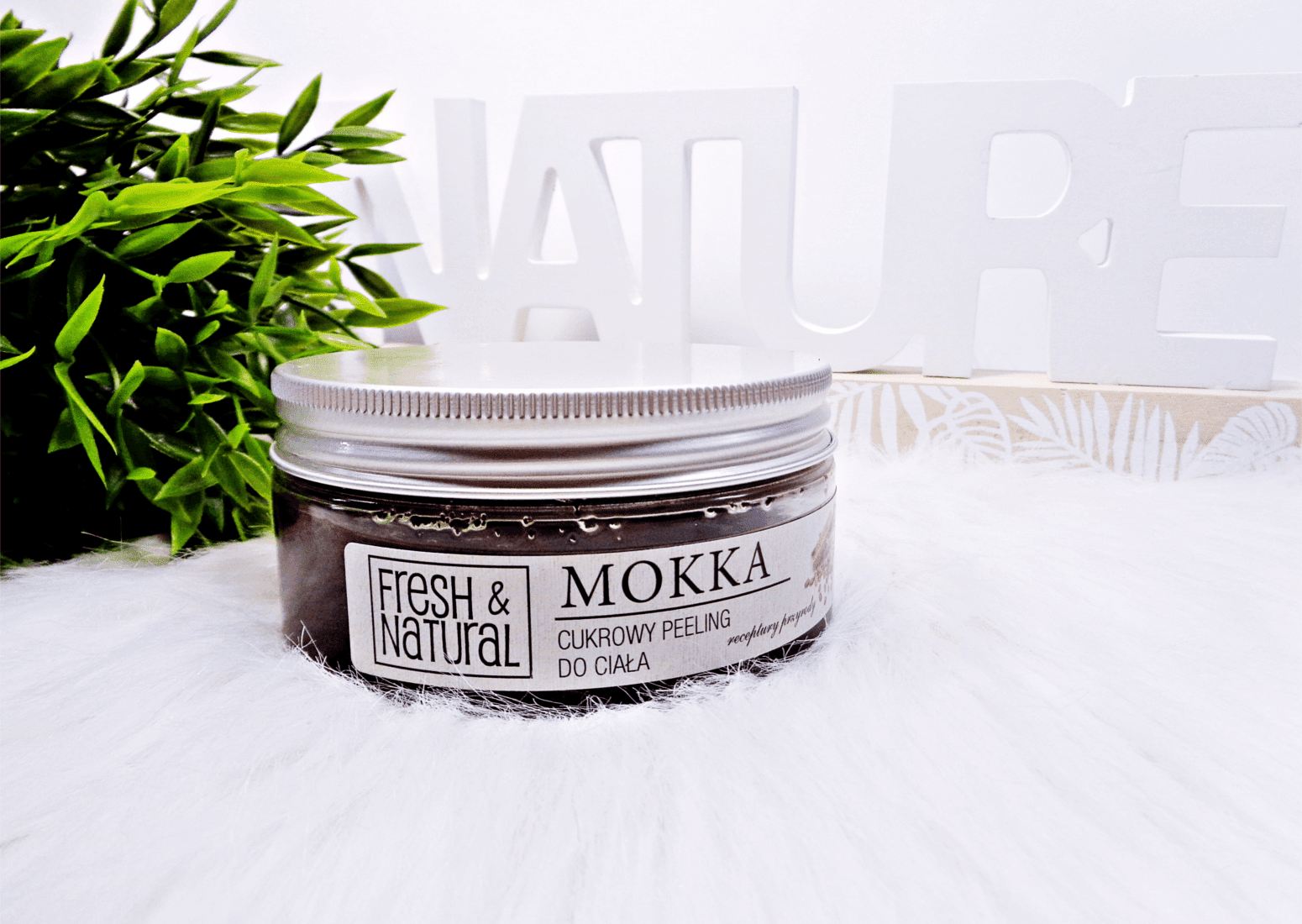 Kawowy Peeling do ciała Mokka Fresh and Natural
