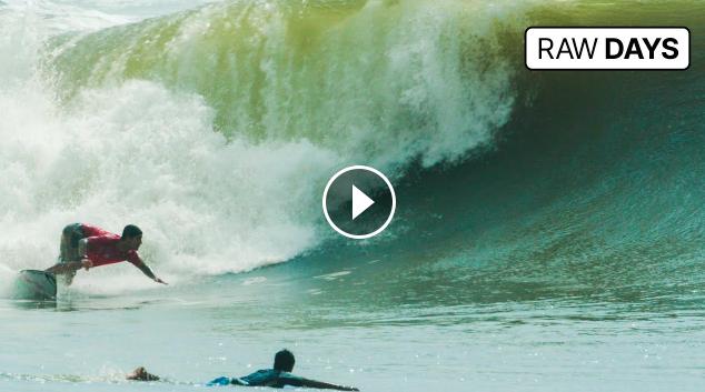 RAW DAYS | La Punta / Barra De La Cruz, Mexico | Gabriel Medina & Lucas Silveira