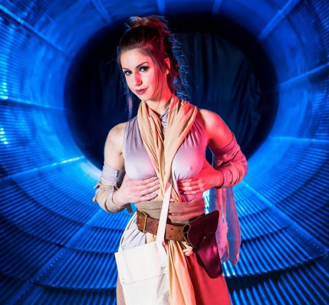 Cosplay Star Wars Parody Stella Cox