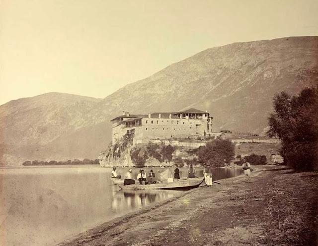 Ohrid Lake 1863 St. Naum