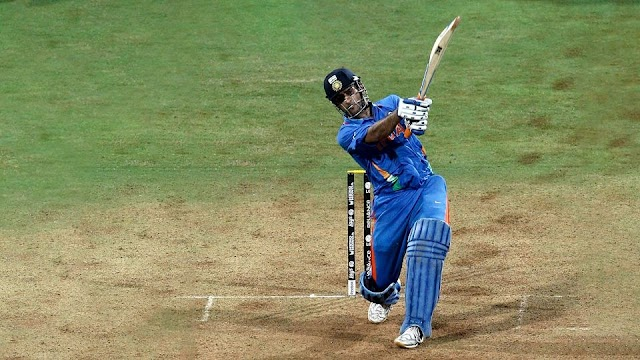 What was the stand name of Wankhede where Mahi's winning sixer landed during 2011 WC finals?