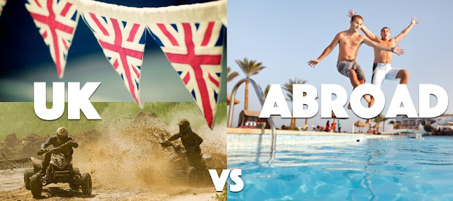 Union Jacks, quad bikes and stag parties to jumping into a pool