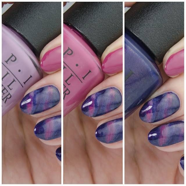 """OPI """"Turn On The Northern Lights!"""" swatch"""