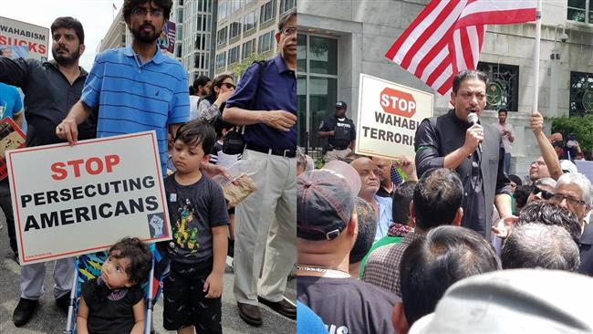 US Muslims mark anniversary of Jannat al-Baqi destruction by Riyadh with anti-Saudi protest rally in Washington
