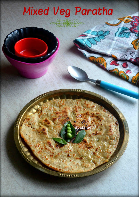 Stuffed Mixed Vegetable Paratha