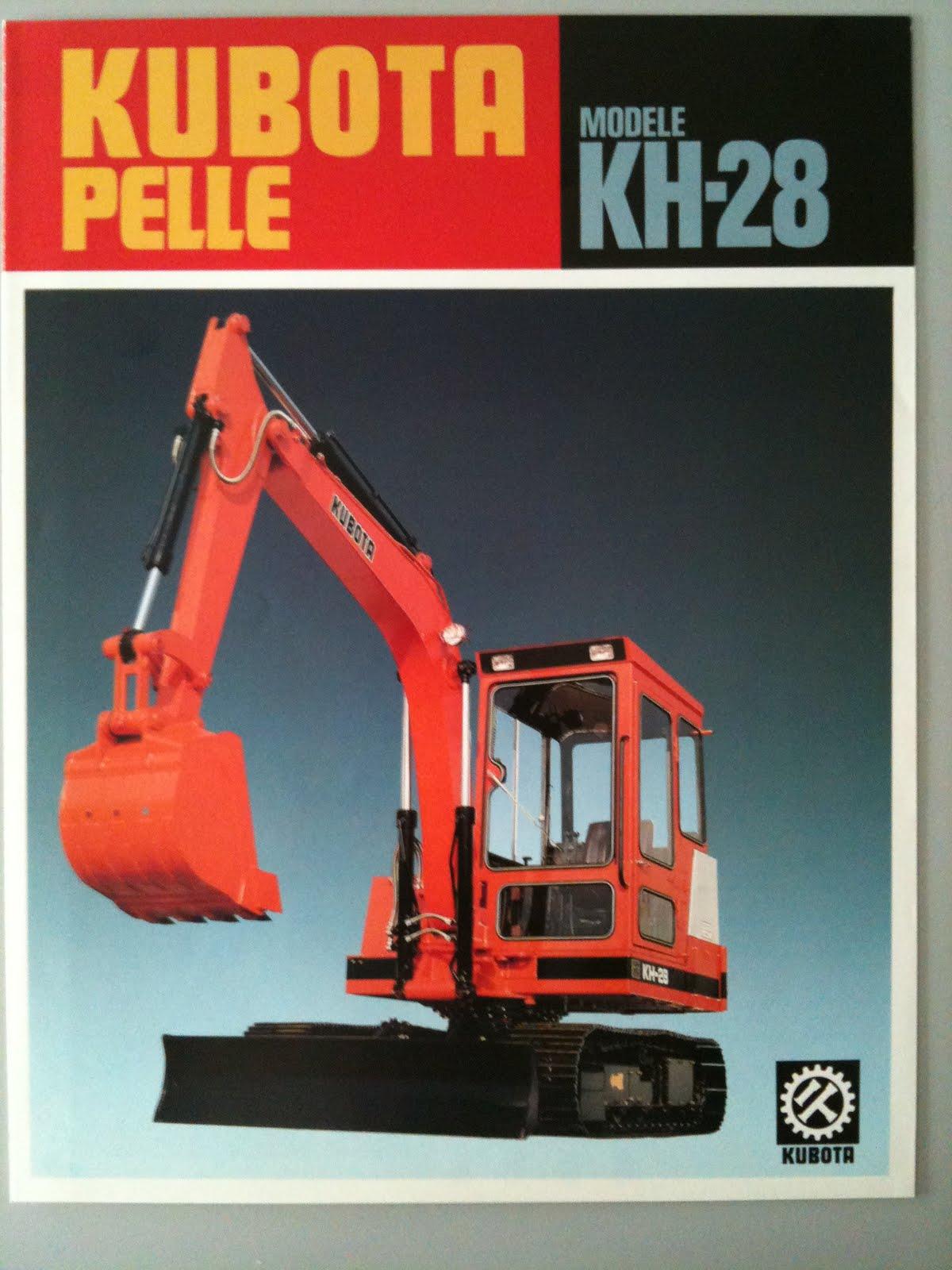 Kubota Track Excavator KH-28 #364