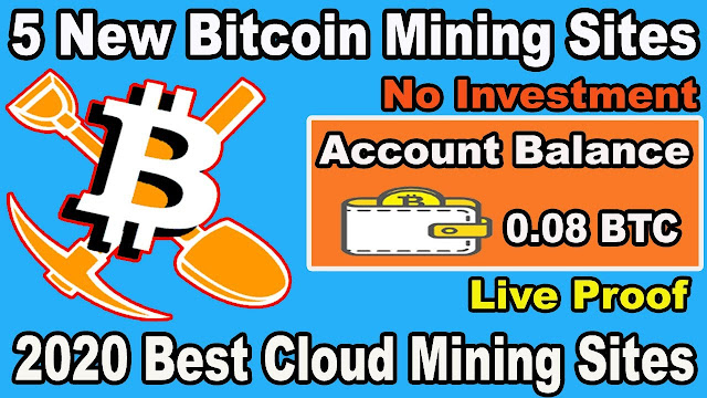 20$ Live Withdrawal New Bitcoin Mining Website Free Bitcoin Earning Site 2020 Free BTC Mining