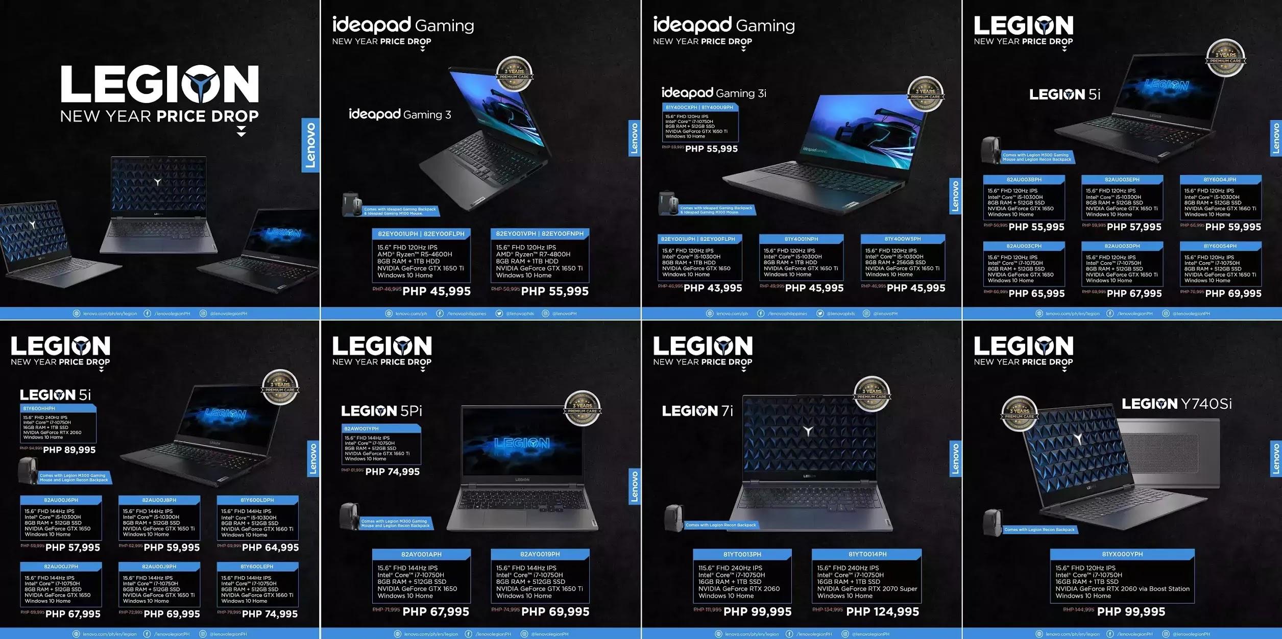 Lenovo Legion New Year Price Drop