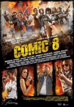 Comic 8 Awal Baru Film Komedi Indonesia Aldy Pradana