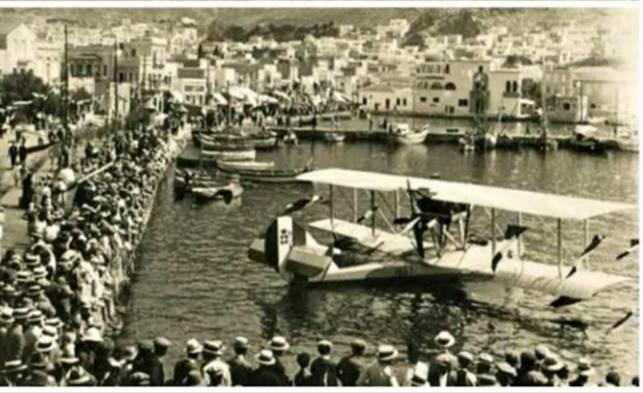 Ρόδος, Κάλυμνος, Λέρος και Πάτμος το 1920 είχαν δρομολογημένα υδροπλάνα!