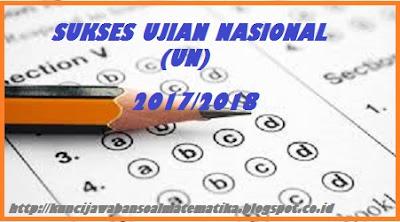 PEMBAHASAN SOAL UJIAN NASIONAL (UN) MATEMATIKA IPA SMA/MA TAHUN 2017