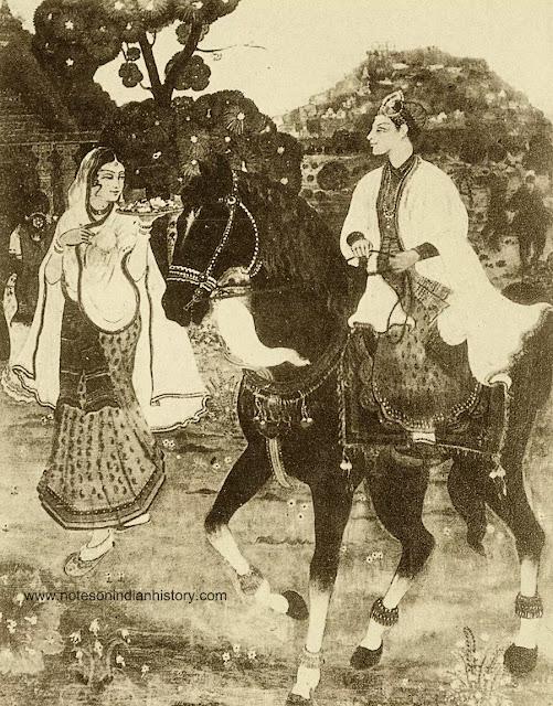sultan-muhammad-quli-qutub-shah-and-bhagmati