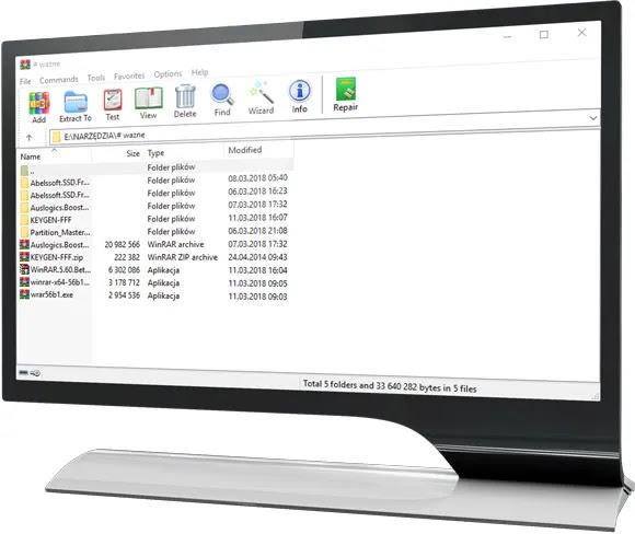 تحميل برنامج وينرار WinRAR 5.80  النسخة النهائية مع التفعيل