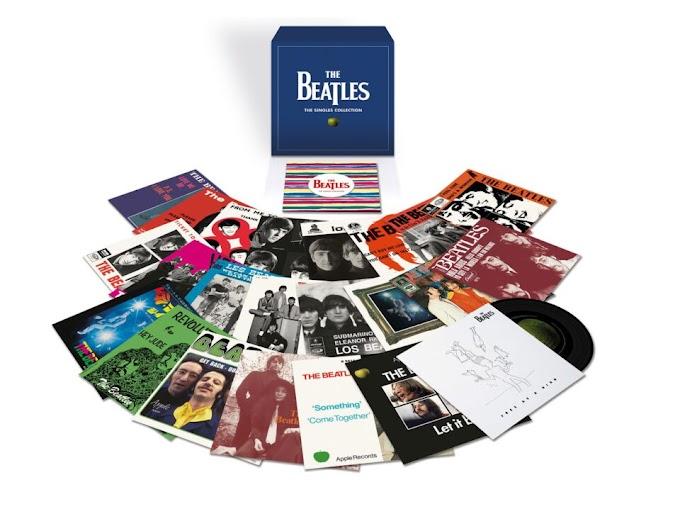 ビートルズのシングルレコード集『ザ・シングルス・コレクション』 2019年11月22日 全世界同時発売