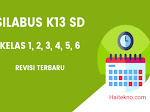 Silabus K13 Kelas 2 Revisi Terbaru Semester 1 & 2