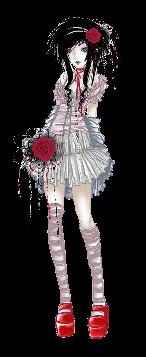 Render Gothic Girl