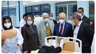 راشد الغنوشي : الأمن الصحي و سلامة تونسيين من أولويات السلطة التشريعية و نحن هنا من اجل خدمة شعب
