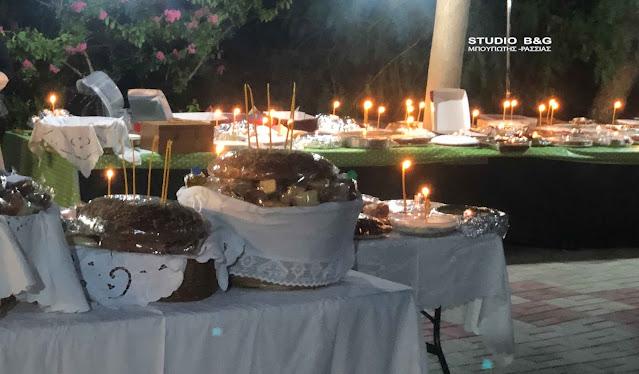 H εορτή του Αγίου Φανουρίου στο Κουτσοπόδι Αργολίδος
