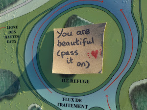 You are beautiful, pass it on