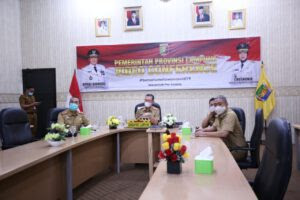 Pemprov Lampung Bahas Pengendalian Perubahan Iklim dan Dampaknya Terhadap Pandemic Covid-19