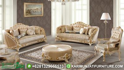 Set Sofa Tamu Mewah Modern Arabian