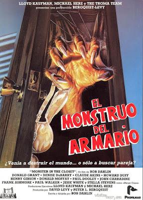 El monstruo del armario, film