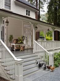 Desain Tangga Depan Rumah Mewah