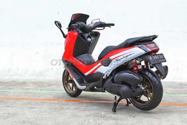 modifikasi motor yamaha nmax foto gambar60  terbaru